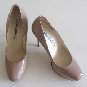 Brian Atwood Shoes - BRIAN ATWOOD Maniac nude hidden platform pump 36.5